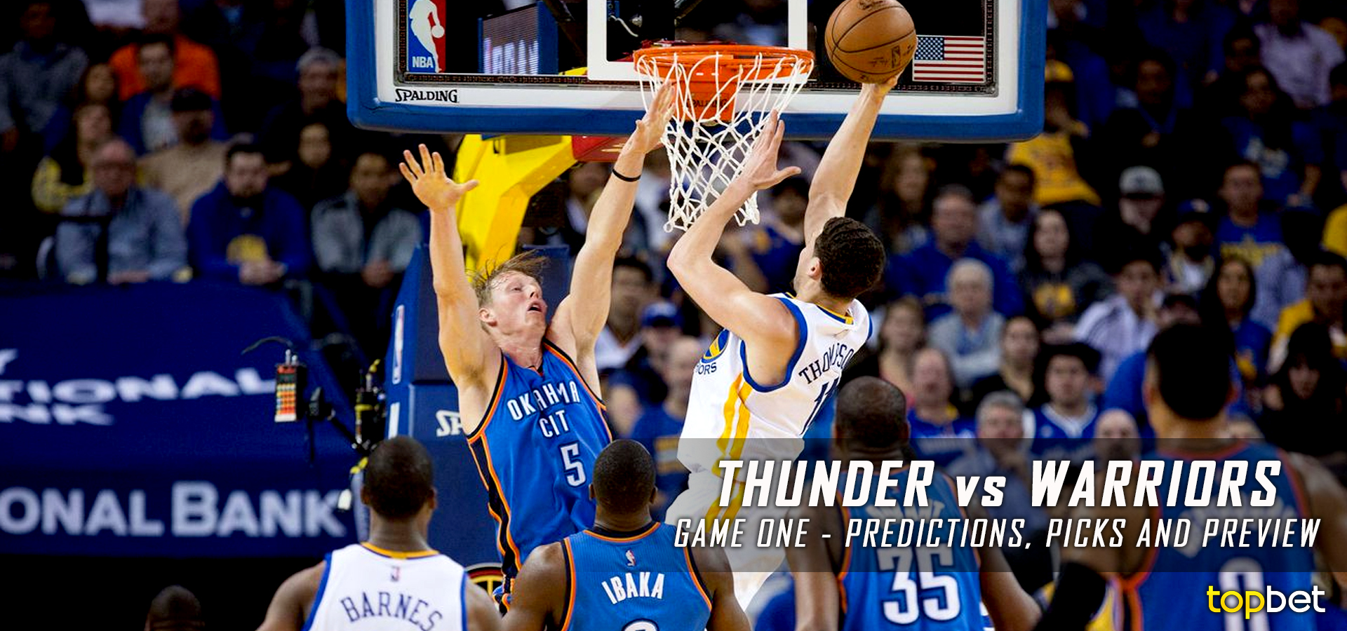 Thunder vs Warriors Series Game 1 Predictions, Picks, Odds