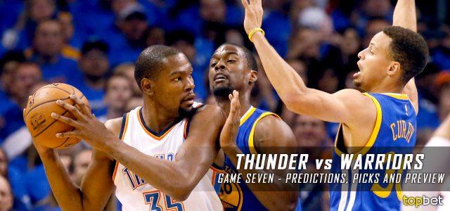 5df638c3f90 Thunder vs Warriors Series Game 7 Predictions