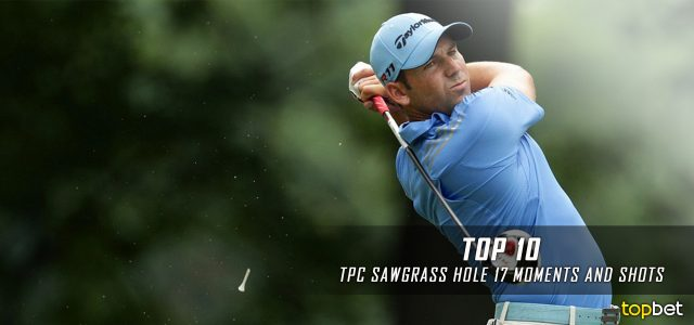 Top 10 TPC at Sawgrass 17th Hole Moments