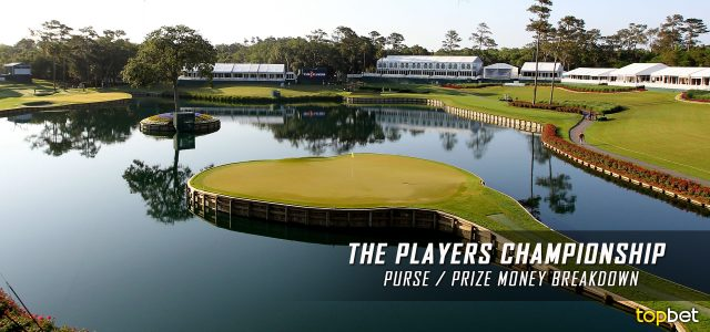2016 pga players championship purse    prize money breakdown