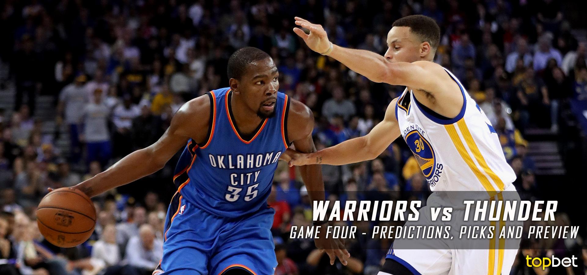 Warriors vs Thunder Series Game 4 Predictions, Picks, Odds