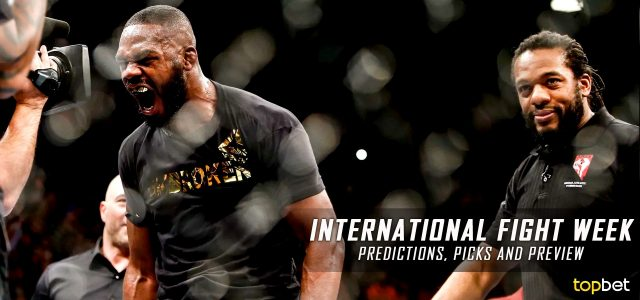 2016 International Fight Week Predictions, Picks and MMA Betting Preview