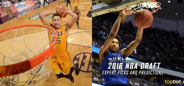 2016 NBA Draft Experts Picks and Predictions