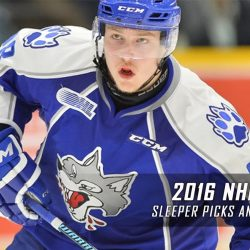 2016 NHL Draft Sleepers Picks and Predictions
