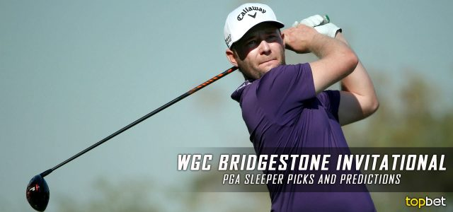 2016 Wgc Bridgestone Invitational Sleeper Picks Predictions