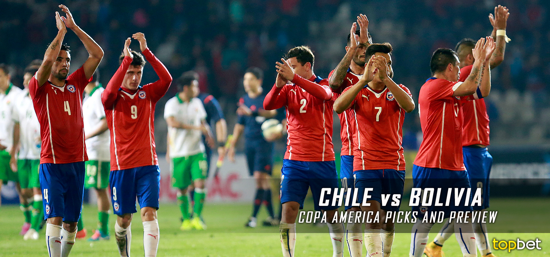Chile vs. Bolivia – 2016 Copa America – Group D Predictions and ...