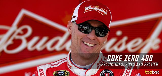 Coke Zero 400 Predictions, Picks, Odds and Betting Preview: 2016 NASCAR Sprint Cup Series