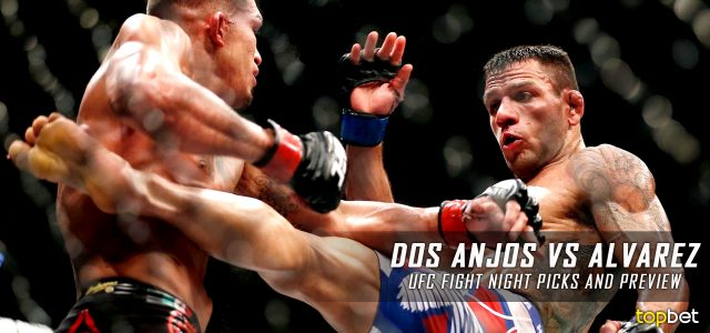 UFC Fight Night 90: Dos Anjos vs. Alvarez Predictions, Picks and MMA Betting Preview – July 7, 2016