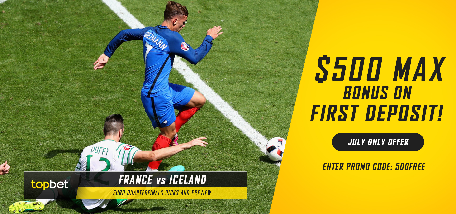 France vs Iceland – 2016 Euro Cup Quarterfinal Predictions