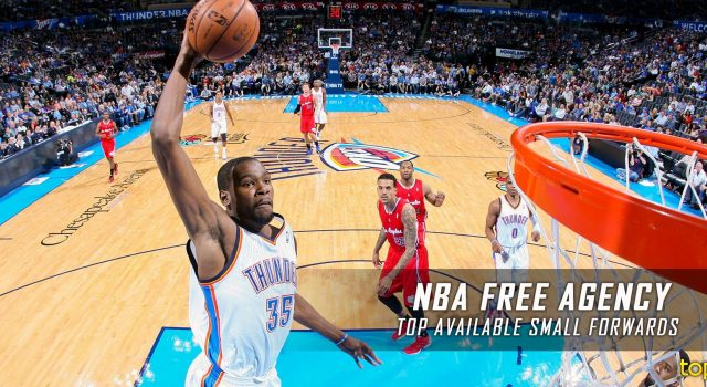 Top Available Unrestricted Free Agent Small Forwards