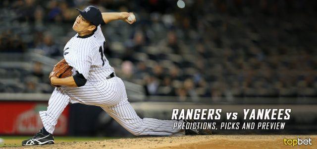 Texas Rangers vs. New York Yankees Predictions, Picks and MLB Preview – June 29, 2016