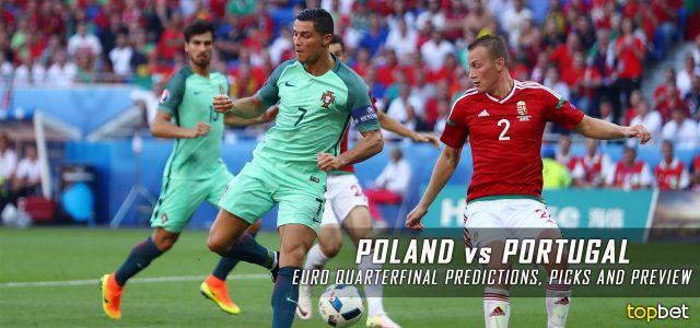 Poland vs. Portugal – 2016 Euro Cup Quarterfinal Predictions, Picks and Betting Preview – June 30, 2016