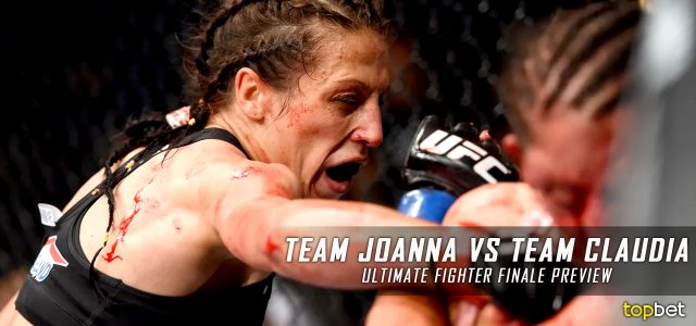 UFC – The Ultimate Fighter 23 Finale – Team Joanna vs. Team Claudia Predictions, Picks and Preview