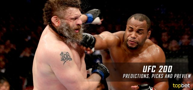 UFC 200: Cormier vs. Jones 2 Predictions, Picks and Betting Preview – July 9, 2016
