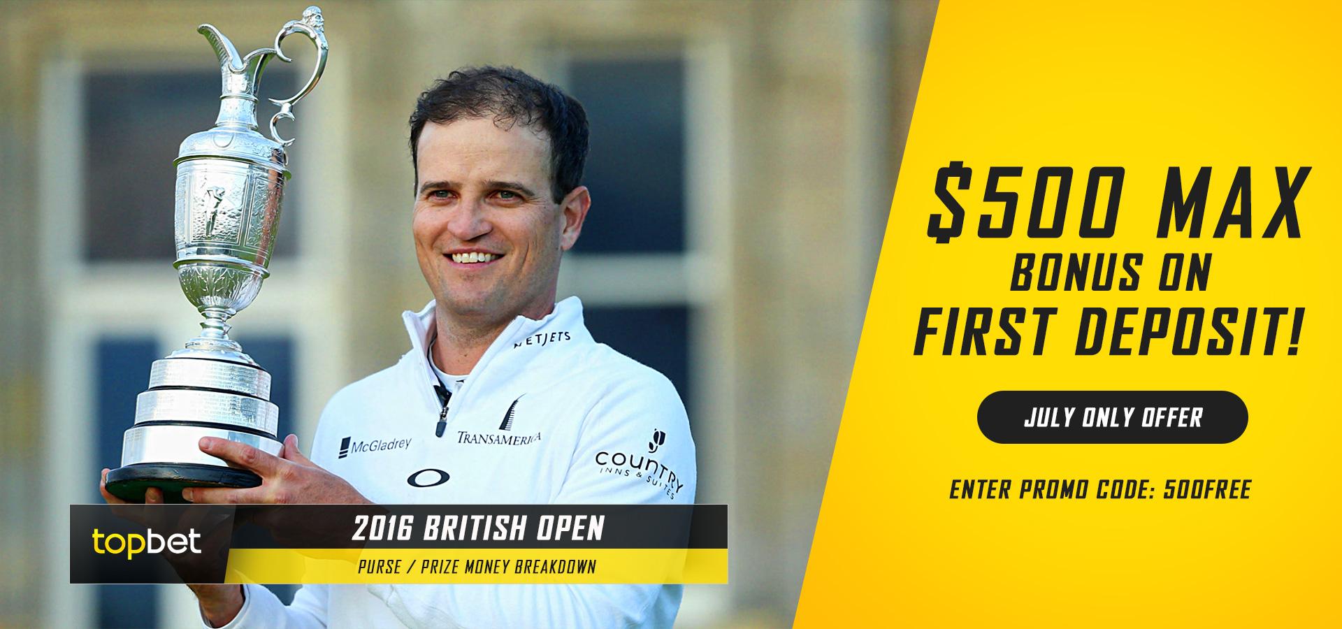 2016 british open prize money winners