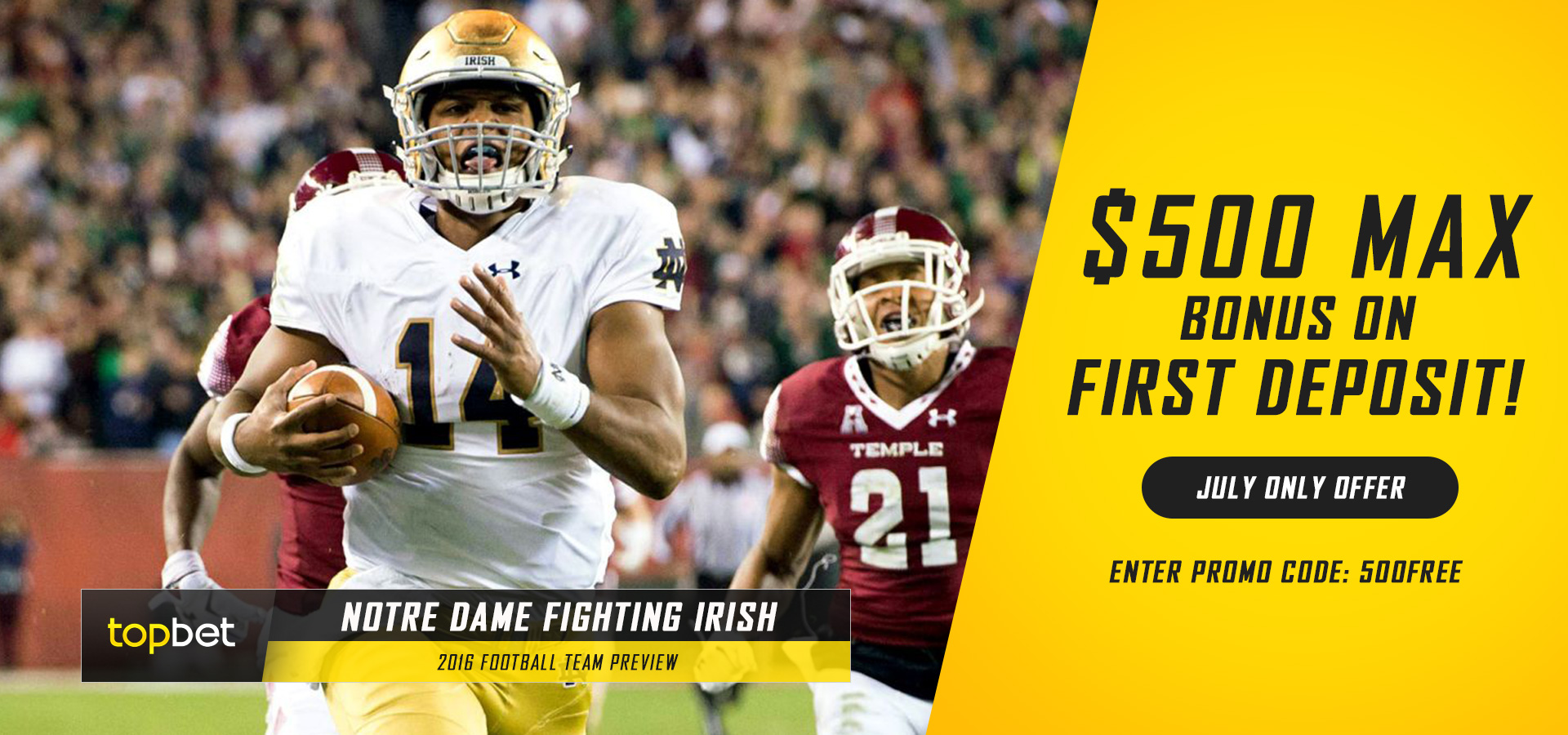 notre dame fighting irish 2016 football team preview