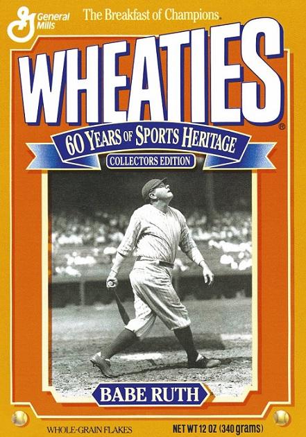 Athletes On Wheaties Box