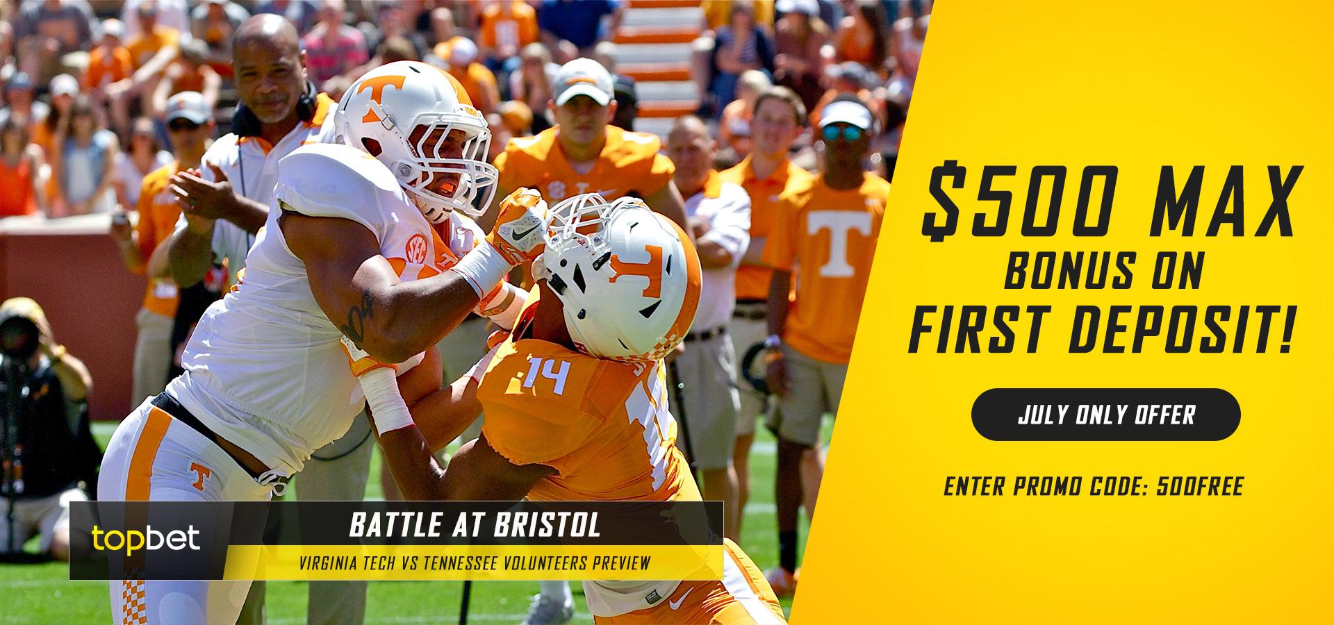 Battle At Bristol Virginia Tech Vs Tennessee Predictions