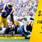 ncaa football spread what is the football schedule