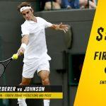 Roger Federer vs. Steve Johnson Predictions, Odds, Picks and Tennis Betting Preview – 2016 Wimbledon Fourth Round