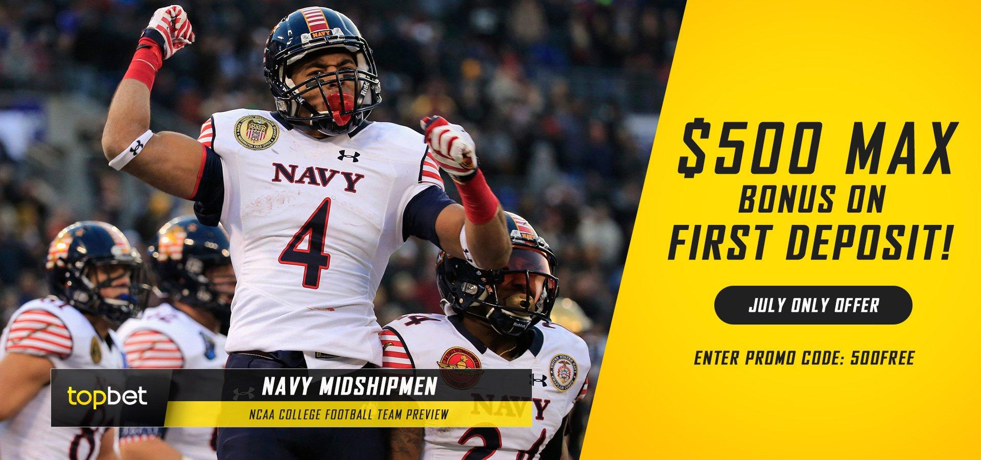 Navy Midshipmen 2016 Football Team Preview