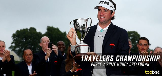 2016 Travelers Championship Purse and Prize Money Breakdown