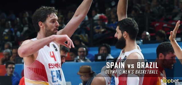 Spain vs. Brazil – Rio 2016 Olympics Men's Basketball – Group B Predictions and Betting Preview – August 9, 2016