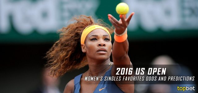 2016 US Open Tennis Women's Best Bets, Picks, Predictions and Favorites