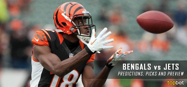 lines football jets bengals spread