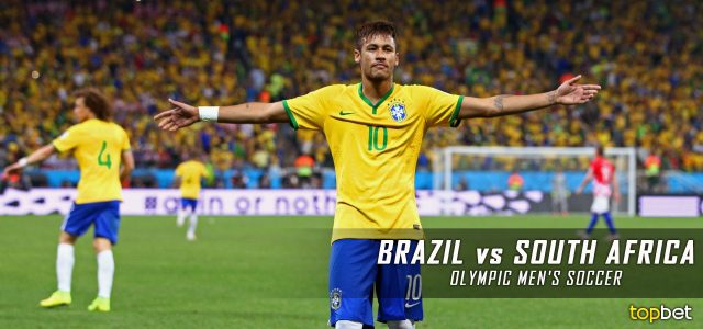 Brazil vs. South Africa – Rio 2016 Olympics Men's Soccer – Group A Predictions and Betting Preview – August 4, 2016