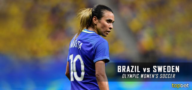 Brazil vs. Sweden – Rio 2016 Olympics Women's Soccer Semifinal Predictions, Picks and Betting Preview – August 16, 2016