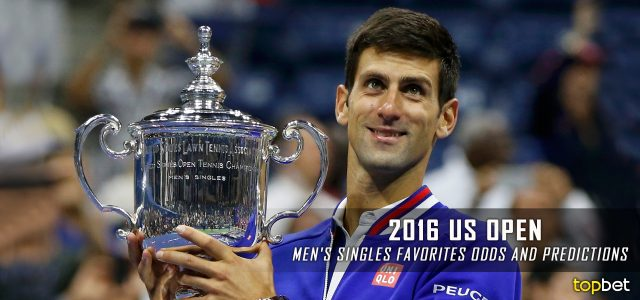 2016 US Open Tennis Men's Best Bets, Picks, Predictions and Favorites
