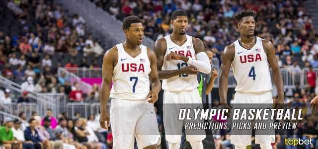 ... , Odds, Picks and Preview | Sports Betting Tips, News, and Analysis: https://topbet.eu/news/rio-2016-summer-olympics-basketball...