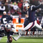 2016 NFL Regular Season Kicker Fantasy Points Projections
