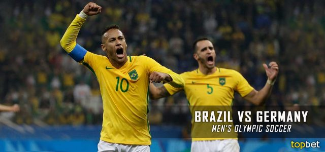 Brazil vs. Germany – Rio 2016 Olympics Men's Soccer Gold Medal Match Predictions, Picks and Betting Preview – August 20, 2016