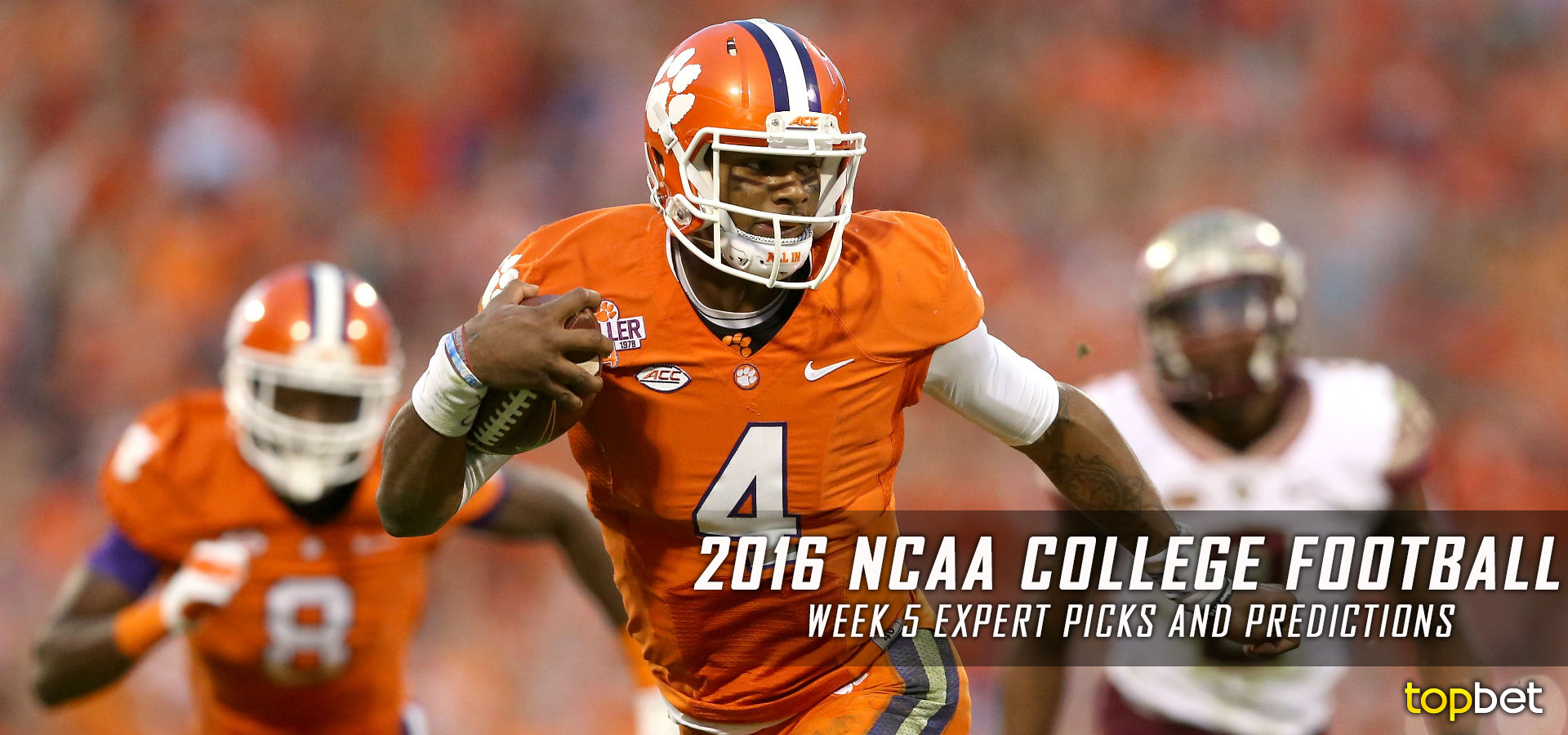 College Football Week 5 Expert Picks and Predictions 2016