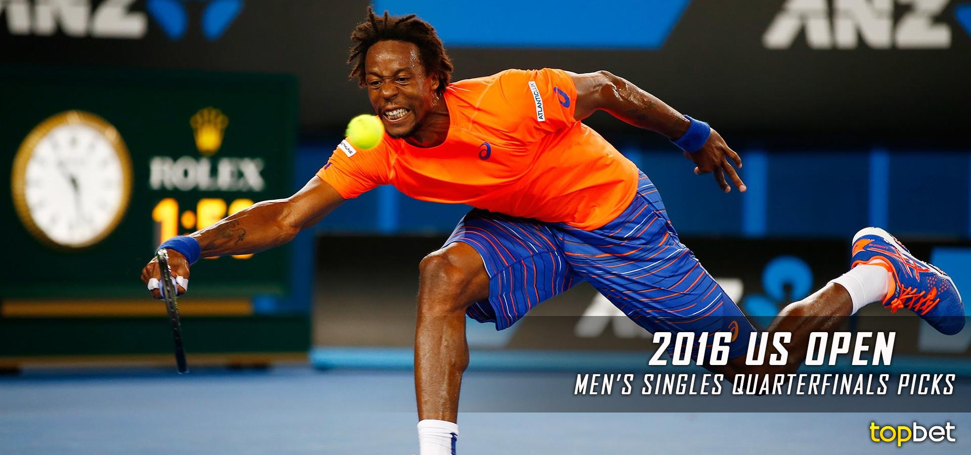2016 US Open Tennis Quarterfinals Predictions & Picks - Mens