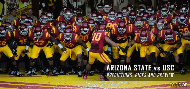 Arizona State Sun Devils vs. USC Trojans Predictions, Picks, Odds, and NCAA Football Week Five Betting Preview – October 1, 2016