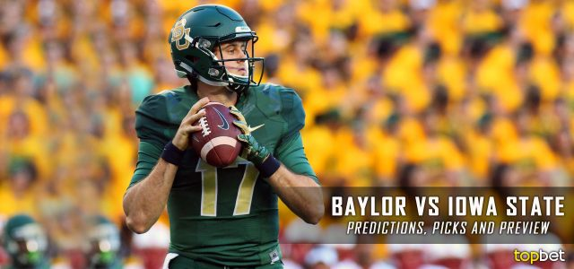 Baylor Bears vs. Iowa State Cyclones Predictions, Picks, Odds, and NCAA Football Week Five Betting Preview – October 1, 2016