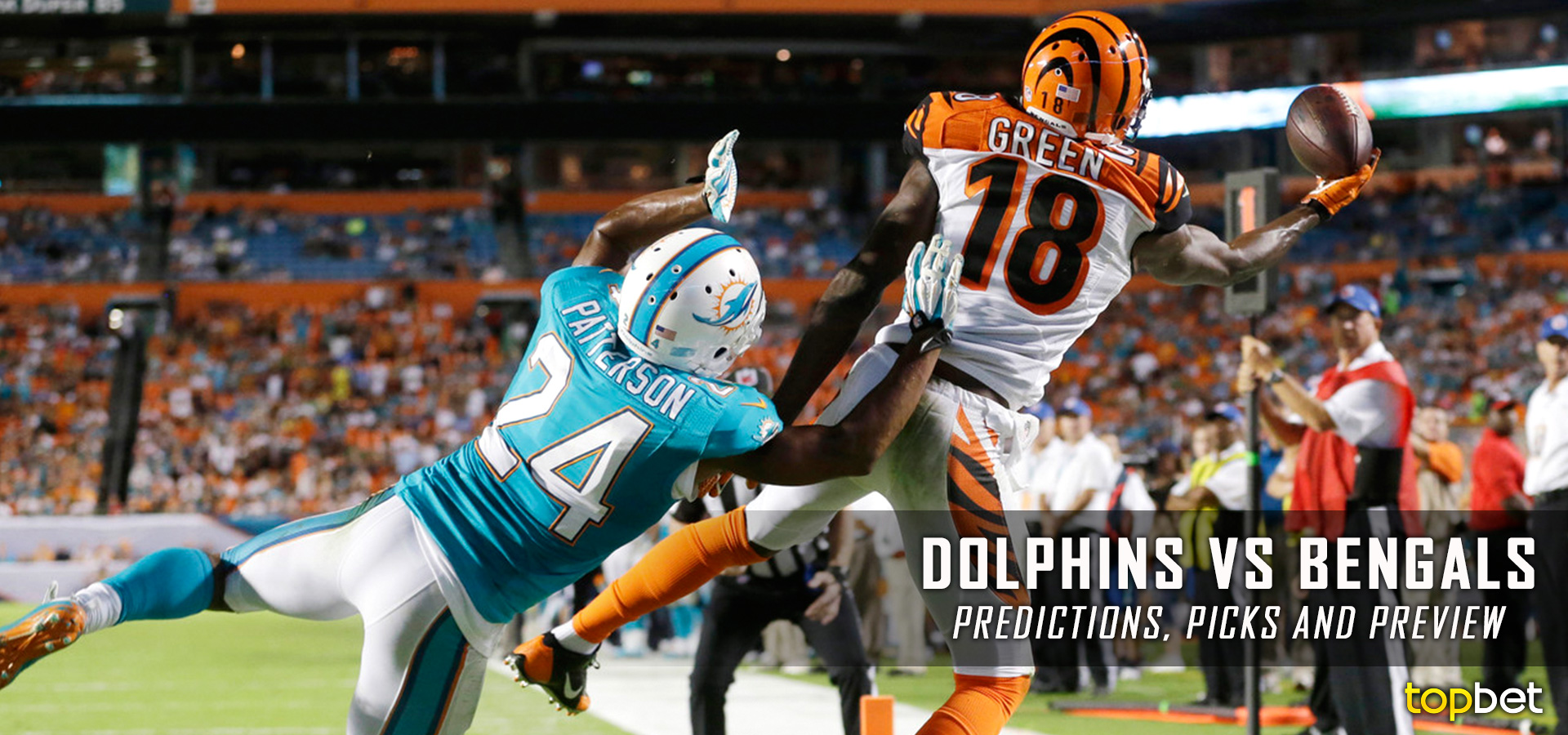 dolphins bengals line sports beting