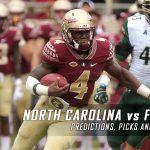 North Carolina Tar Heels vs. Florida State Seminoles Predictions, Picks, Odds, and NCAA Football Week Five Betting Preview – October 1, 2016