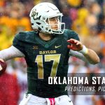 Oklahoma State Cowboys vs. Baylor Bears Predictions, Picks, Odds, and NCAA Football Week Four Betting Preview – September 24, 2016