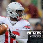 Rutgers Scarlet Knights vs. Ohio State Buckeyes Predictions, Picks, Odds, and NCAA Football Week Five Betting Preview – October 1, 2016