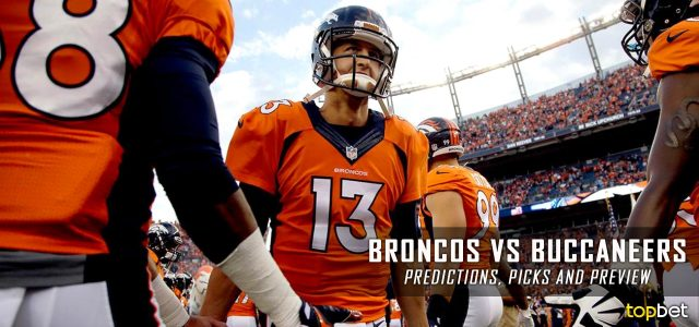 low priced 9e9d5 84e86 Denver Broncos vs Tampa Bay Buccaneers Predictions and Picks