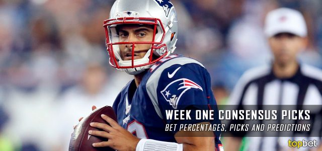 NFL Consensus Picks, Bets and Predictions for Week One of the 2016 Regular Season