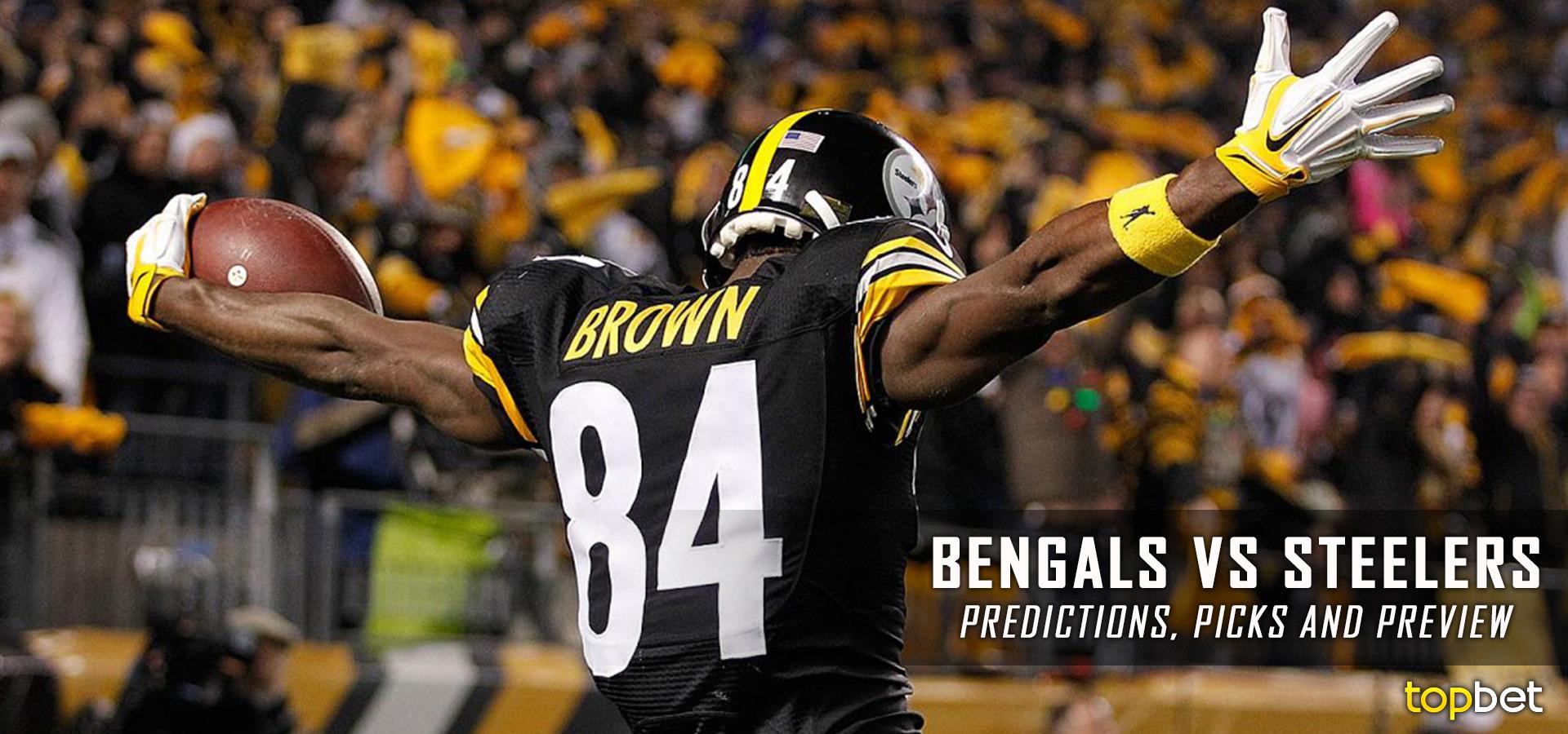Cincinnati Bengals vs Pittsburgh Steelers Predictions/Picks