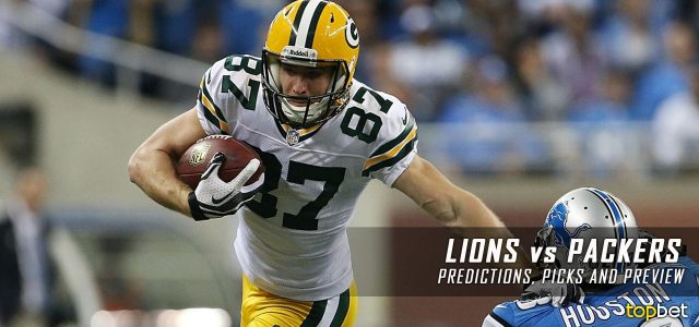 Detroit Lions vs. Green Bay Packers Predictions, Odds, Picks and NFL Week 3 Betting Preview – September 25, 2016