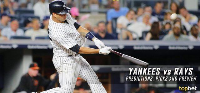 New York Yankees vs. Tampa Bay Rays Predictions, Picks and MLB Preview – September 22, 2016