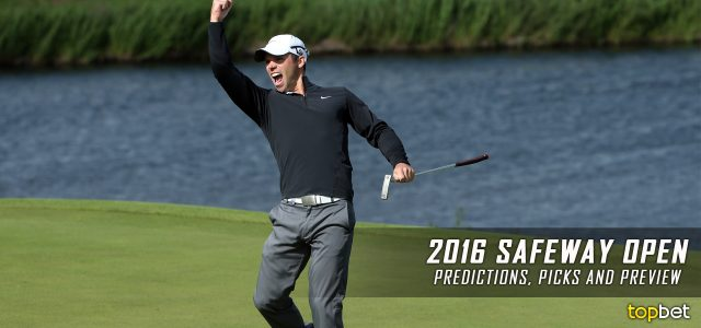 2016 Safeway Open Predictions, Picks, Odds and PGA Betting Preview