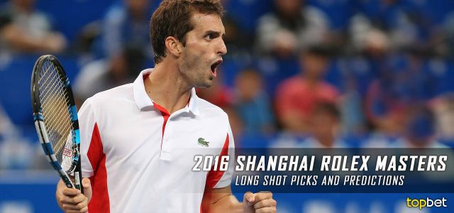 2016 ATP Shanghai Rolex Masters Long Shots and Best Value Predictions